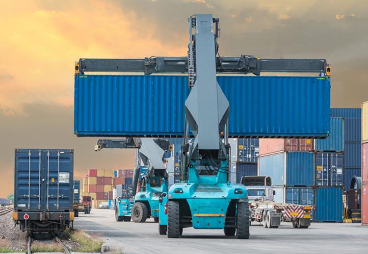 multimodalny przewóz towarów