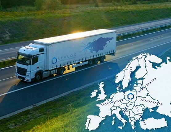 Transport ciężarowy po Europie - usługi transportowe
