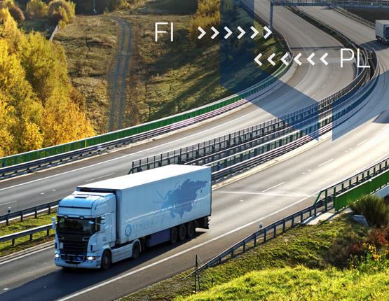Transport do Finlandii